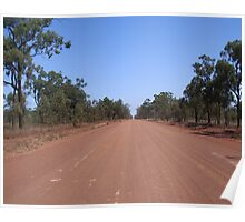 on the way to Carnarvon Gorge... Poster