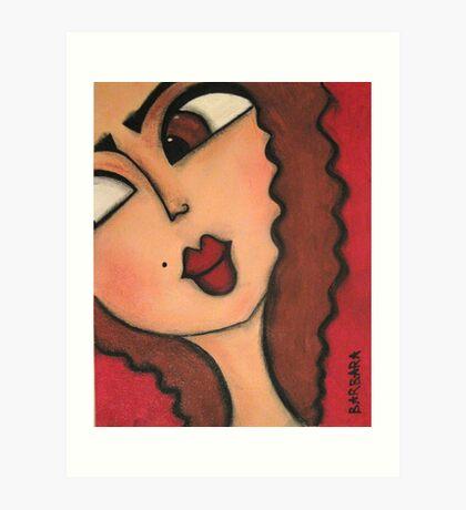 Connie Art Print