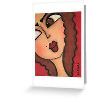 Connie Greeting Card