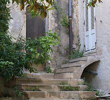 Ramatuelle, Provence, France, old house entrance by BronReid