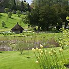 Blair Castle, Blair Athol, Scotland, Hercules Garden by BronReid