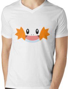 Pokemon - Mudkip / Mizugorou Mens V-Neck T-Shirt