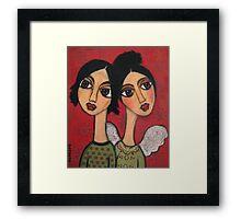 Love is forever Framed Print