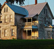 Sunset on the Old Home Place by barnsis