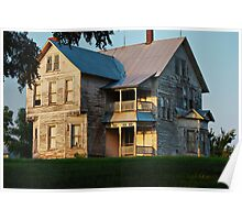 Sunset on the Old Home Place Poster