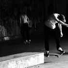 Skateboarding by JanMurphy