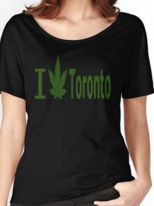 0005 I Love Toronto Women's Relaxed Fit T-Shirt