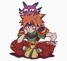Terranigma, Ark and Yomi by tshirtdesign