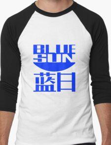 Blue Sun Men's Baseball ¾ T-Shirt