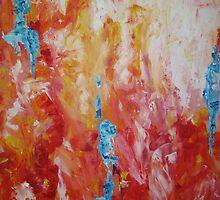arancione/azzurro 1 by Liliana Robek-Bresa