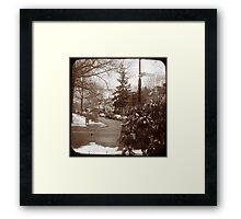 Ditmas Park TTV Framed Print