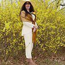 American Native Indian in a Yellow Dresssssssss! by RealPainter
