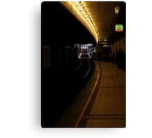 The Tube Canvas Print