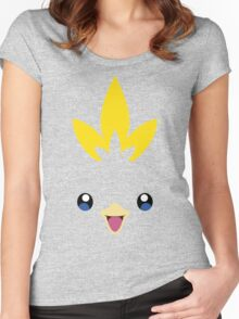 Pokemon - Torchic / Achamo Women's Fitted Scoop T-Shirt