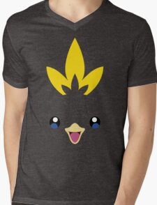 Pokemon - Torchic / Achamo Mens V-Neck T-Shirt