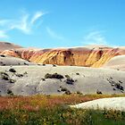 Yellow Hills in the Badlands by Mike Donovan
