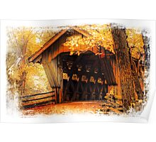 Wisconsin Covered Bridge Poster