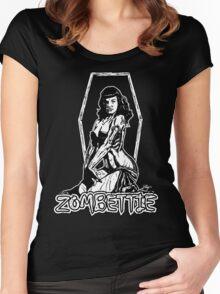 Zombettie Women's Fitted Scoop T-Shirt