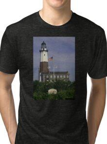 Montauk Lighthouse Tri-blend T-Shirt