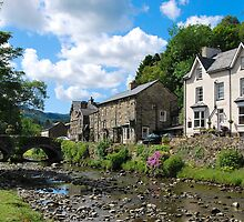 Village of Beddgelert   by 29Breizh33