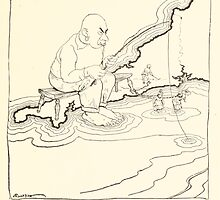 Snickerty Nick art by Arthur Rackham 1919 0057 The Great Cornish Ogre by wetdryvac