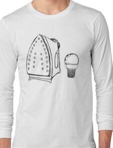 Anti Wrinkle Ice Cream Long Sleeve T-Shirt