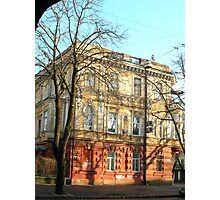 Odessa - Beautiful Building - 2 Photographic Print