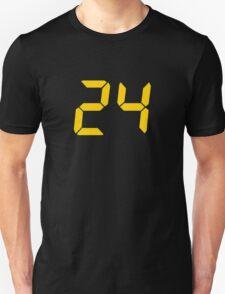 24 TV Show Text, Font Unisex T-Shirt
