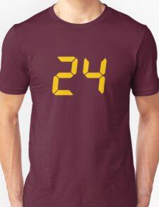 24 TV Show Text, Font T-Shirt