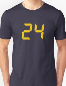 24 TV Show Text, Font T-Shirt