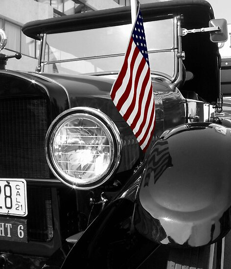1920 Studebaker-flag by Darrell-photos
