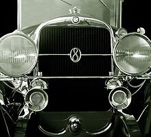Big Eight Studebaker-black and white by Darrell-photos