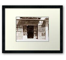 Deli in Malaga, Spain  Framed Print