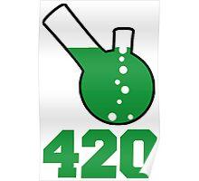 420, Bong Water Design Poster