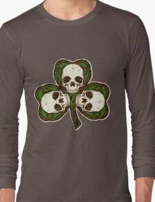 St Patty's Day of the Dead Long Sleeve T-Shirt