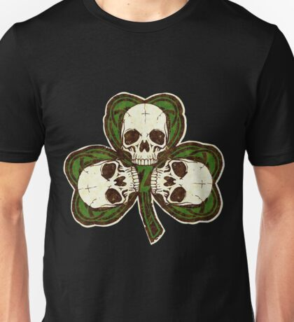 St Patty's Day of the Dead Unisex T-Shirt