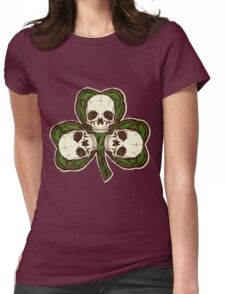 St Patty's Day of the Dead Womens Fitted T-Shirt