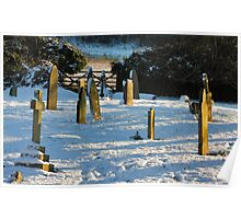 Gravestones 1 Poster