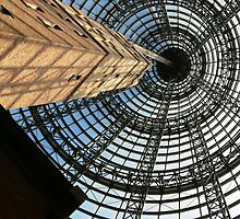 Bourke St Shot Tower by Gil Gordon