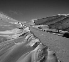 Snaw off a dyke by Ranald