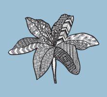 Zen lily Baby Tee