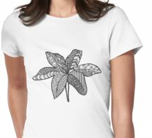 Zen lily Womens Fitted T-Shirt