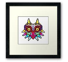 8-bit Majora's Mask Framed Print