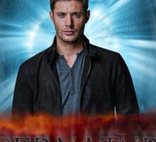 Supernatural I'm the one who gripped you tight and raised you from Perdition Sticker