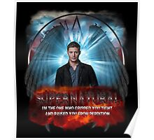 Supernatural I'm the one who gripped you tight and raised you from Perdition Poster