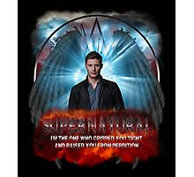 Supernatural I'm the one who gripped you tight and raised you from Perdition Photographic Print