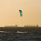 Kitesurfers by Richard Majlinder
