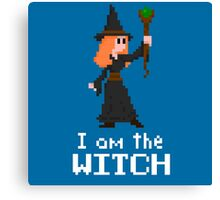 I am the Witch Canvas Print