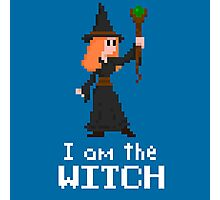 I am the Witch Photographic Print