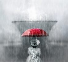 Staying dry by Amanda  Cass